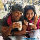 White wedding! Milind Soman and Ankita exchange vows again in Spain