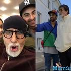 Amitabh Bachchan treats Brahmastra team with vada pao, samosas in Bulgaria