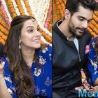 Angad Bedi wishing wife Neha Dhupia is truly adorable