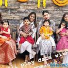 Taimur Ali Khan and Inaaya Naumi Kemmu ring in to the festive spirit
