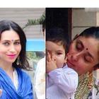 Kareena Kapoor, Taimur Ali Khan, Karisma Kapoor and kids' Royal Diwali photo