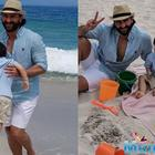 Taimur Ali Khan enjoys his pre-birthday by the sea of South Africa
