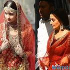 Alia Bhatt looks stunning in red as she makes the perfect bride in this NEW leaked picture from sets of Kalank