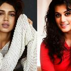 Bhumi and Taapsee have no hard feelings as they shot together