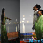 Ranbir Kapoor and Alia Bhatt's pictures from Brahmastra logo launch at Kumbh Mela are full of love and divine