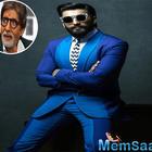 Ranveer Singh calls Amitabh Bachchan GOAT!