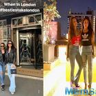 Kareena Kapoor Khan swaggers across London streets with BFF Amrita Arora in style!