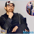 This video of Aamir Khan travelling in the economy class of airline is going viral