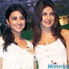 Priyanka-Parineeti flash a big smile while posing with their new pet Bailey; See pic