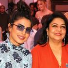 Priyanka Chopra Jonas steps out for dinner with mother Madhu Chopra