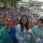 Sonakshi Sinha: Joined mother's rally as a daughter