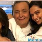 Deepika Padukone spends some quality time with Ranbir Kapoor's parents Rishi and Neetu Kapoor