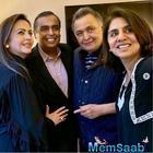 Mukesh-Nita Ambani meet the ailing Rishi Kapoor in NYC; wife Neetu thank them for assurance