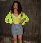 Tamannaah Bhatia looks smoking hot in neon for Khamoshi promotions