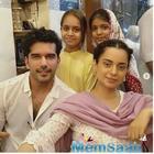 Kangana Ranaut visits 'Manikarnika' co-star Taher Shabbir's house for the Iftar party