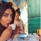 Priyanka Chopra shares a video of herself sipping on Ethiopian coffee