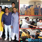 Tara Sutaria and Ahan Shetty join others for Eid celebrations at filmmaker Sajid Nadiadwala's office