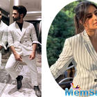 Shahid Kapoor copies Katrina outfit for Kabir Singh Promotion