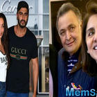 Lovebirds Malaika Arora-Arjun Kapoor meet Rishi Kapoor and Neetu Singh in NYC