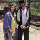 Kartik Aryan and Sara Ali Khan's cozy picture from Imtiaz Ali's Aaj Kal! Have a look