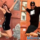 "Malaika Arora and Arjun Kapoor's boomerang pics from Tribeca are all heart, ""I make you look good,"" Malaika tells her beau"