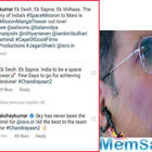 Indian Space Research Organization responds to the teaser of Mission Mangal