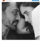 Arjun Rampal and Gabriella Demetriades share an endearing picture holding their newborn's tiny hand