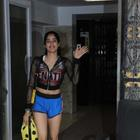 Pics: Janhvi Kapoor redefines cuteness as she flashes her smile at the paps & heads to the gym