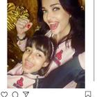Aishwarya Rai Bachchan posts an adorable PIC with Aaradhya; Abhishek Bachchan calls them 'good luck charms'