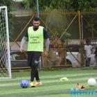 MS Dhoni nearly gets mobbed after celebrity football match with ArjunKapoor