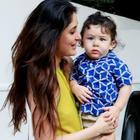 Taimur Ali Khan visits mommy Kareena Kapoor Khan on the sets
