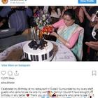 Asha Bhosle celebrates her 86th birthday in Dubai with family and friends