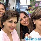 Sonali Bendre is experimenting with her hair and we are in awe of all her looks!