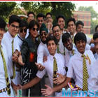 Pics: SRK's hush-hush visit to his school is unmissable