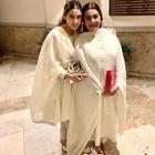 Twinning in White: Sara Ali Khan is a spitting image of her mother Amrita Singh
