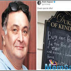 Rishi Kapoor teases his fan with an hilarious posts
