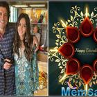 Diwali 2019: Farhan Akhtar and Shibani Dandekar bring in the festival together with his family