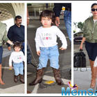 Taimur Ali Khan steals the thunder at the airport as he twins in boots with mommy Kareena Kapoor Khan