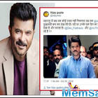 Fan wants Anil Kapoor to become Maharashtra CM; the actor has epic reply