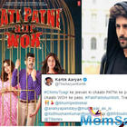 Kartik Aaryan shares the new poster of 'Pati Patni Aur Woh' ahead of its trailer launch