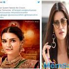 'Panipat' first look poster: Kriti Sanon looks majestic as Parvati Bai