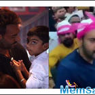 Ajay Devgn and son Yug get mobbed by fans at Ajmer Sharif Dargah