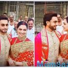 Deepika Padukone, Ranveer Singh celebrate first wedding anniversary