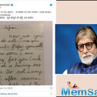 'Darling Papa, I miss you', Amitabh Bachchan revisits Abhishek's childhood letter to him