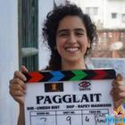 Sanya Malhotra in Ekta's Pagglait