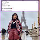 Ahead of her debut at Le Bal, Shanaya Kapoor enjoys her visit to Paris with father Sanjay Kapoor