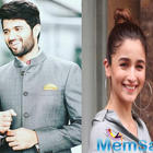 After Vijay Deverakonda reveals to have a crush on Alia Bhatt, the actress tags him as the most glamourous actor