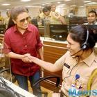 Mardaani 2: Rani Mukerji visits Police Control Room in Mumbai