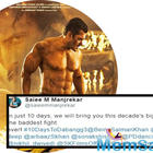 'Dabangg 3': Salman Khan's flaunts his washboard abs as he poses shirtless in the new poster