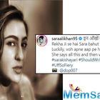 Sara Ali Khan calls herself 'sasti' Rekha as she channels her inner 'Umrao Jaan' in a mesmerizing shoot